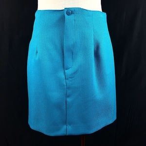 Vintage Daily Habit Teal Blue Corset Skirt